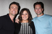 Daniel Goddard, Angelica McDaniel, Michael Muhney — Stock Photo
