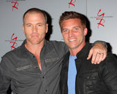 Sean Carrigan, Steve Burton — Foto Stock