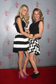 Melissa Ordway, Hunter King — Stockfoto