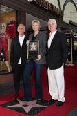 Ryan Murphy, Jane Lynch, Christopher Guest — Stock Photo