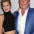 Maggie Lawson, James Caan — ストック写真