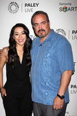 Aimee Garcia, David Zayas — Stock Photo