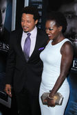 Terrence Howard, Viola Davis — Stock Photo