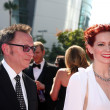 Michael Emerson, Carrie Preston — Stock Photo