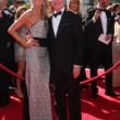 Heidi Klum, Tim Gunn — Stock Photo