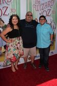Raini Rodriguez, guest, Rico Rodriguez — Stock Photo