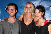 Ryan Churchill, Joelle Carter, Abby Miller — Stock Photo