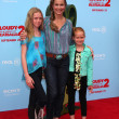 Stock Photo: MelorHardin, with daughters Rory and Piper