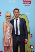Anna Faris, Neil Patrick Harris — Stock Photo