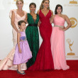 Julie Bowen, Audrey Anderson-Emmons, Sarah Hyland, Sofia Vergara, Ariel Winter — Stock Photo