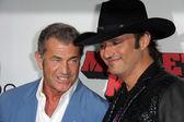 Mel Gibson, Robert Rodriguez — Stock Photo