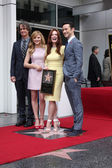Jay Roach, Chloe Grace Moretz, Julianne Moore, Joseph Gordon-Levitt — Stock Photo