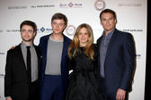Daniel Radcliffe, Dane DeHaan, Jennifer Jason Leigh, Michael C. Hall — Stock Photo