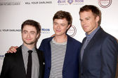 Daniel Radcliffe, Dane DeHaan, Michael C. Hall — Stock Photo
