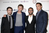 Daniel Radcliffe, Dane DeHaan, John Krokidas, Michael C. Hall — Stock Photo
