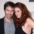Eric McCormack, Debra Messing — Stock Photo