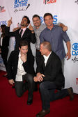 Ignacio Serricchio, Joshua Morrow, Steve Burton, Michael Muhney, Sean Carrigan — Stock Photo