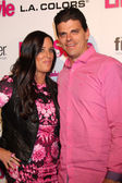 Patti Stanger, David Krause — Stock Photo