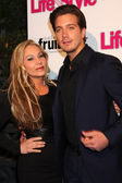 Adrienne Maloof, Jacob Busch — Stock Photo