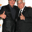 Jeff Trachta, Jay Leno — Stock Photo