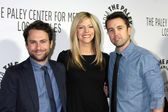 Charlie Day, Kaitlin Olson, Rob McElhenny — Stock Photo