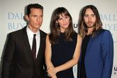 Matthew McConaughey, Jenniifer Garner, Jared Leto — Stock Photo
