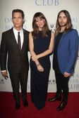 Matthew McConaughey, Jenniifer Garner, Jared Leto — Stock Photo
