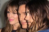 Jenniifer Garner, Matthew McConaughey, Jared Leto — Stock Photo