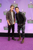 Nick Purcha, Keean Johnson — Стоковое фото