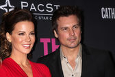 Kate Beckinsale, Len Wiseman — Stock Photo