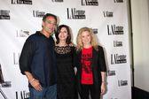 Jon Lindstrom, Finola Hughes, Cady McClain — Stock Photo