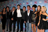 Simon Cowell, Alex & Sierra, Restless Road, Sweet Suspense — Stock Photo