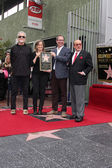 Kris Kristofferson, Laura Joplin, Michael Joplin, Clive Davis — Stock Photo