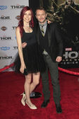 Chloe Dykstra, Chris Hardwick — Stock Photo
