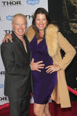 Neal McDonough, Ruve McDonough — Stockfoto