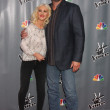 Christina Aguilera, Blake Shelton — Stock Photo