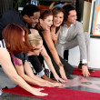 Kate Flannery, Maria Bello, Blair Underwood, Debra Messing, Mariska Hargitay, Danny Pino, Hilary Swank — Stock Photo