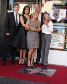 Zoltan Hargitay, Mariska Hargitay, Mickey Hargitay Jr, Jayne Marie Mansfield — Stock Photo