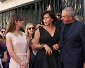 Dick Wolf, Mariska Hargitay, Hilary Swank — Stock Photo