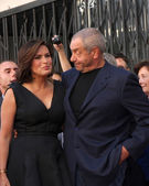 Mariska Hargitay, Dick Wolf — Stock Photo