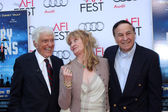 Dick Van Dyke, Karen Dotrice, Richard M. Sherman — Stock Photo