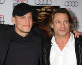 Woody Harrelson, Brett Harrelson — Stock Photo