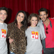 Robert Adamson, Nadia Bjorlin, Linsey Godfrey, Brandon Beemer — Stock Photo