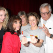 Molly McCook, Kate Linder, Char Griggs, Linsey Godfrey, John McCook — Stock Photo