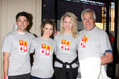 Robert Adamson, Linsey Godfrey, Molly McCook, John McCook — Stock Photo