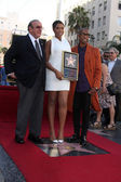 Clive Davis, Jennifer Hudson — Stock Photo