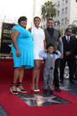 Julia Hudson, Jennifer Hudson, David Daniel Otunga, David Otunga — Stock Photo