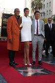 Raphael Saadiq, Jennifer Hudson, Jacob Latimore — Stock Photo