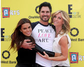 Rosa Blasi, Don Diamont, Cindy Ambuehl — Stock Photo