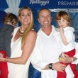 Kerri Walsh Jennings, Casey Jennings, with Joseph and Sundance  — Stok fotoğraf